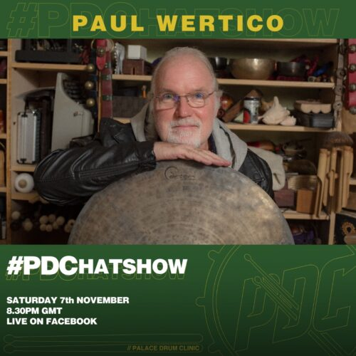 PDChatshow with Paul Wertico