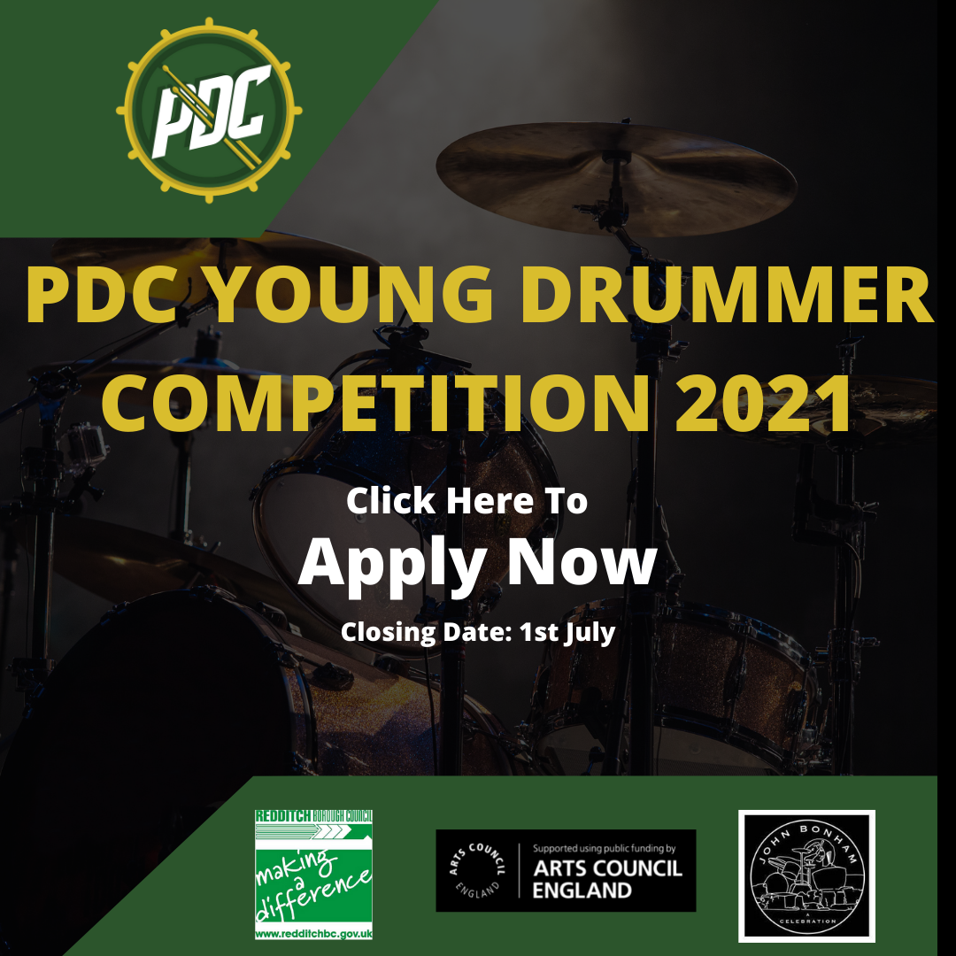 Young Drummer Promotional Poster